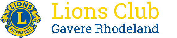 Lions Club Gavere-Rhodeland Logo